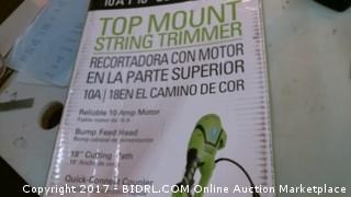 Top Mount String Trimmer Please Preview