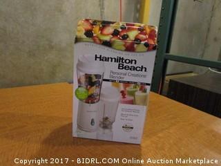 Hamilton Beach Personal Blender Please Preview