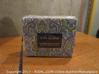 City Scene Duvet Cover Please preview