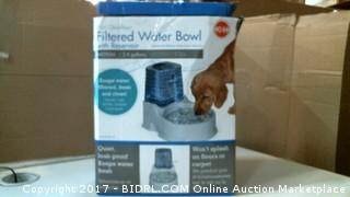 Pet Filtered Water Bowl Please Preview