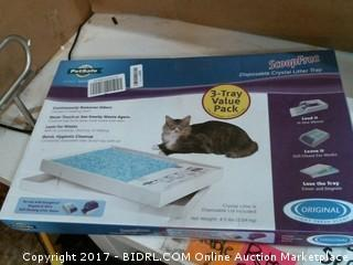 Disposable Crystal Litter Tray Please Preview