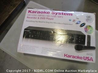 Karaoke System Please Preview