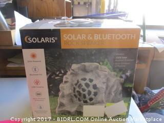 Solar & Bluetooth Rock Speaker Please preview