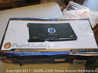 Planet Audio Power Amplifier Please Preview