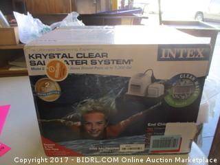 Intex Krystal Clear Saltwater System Please Preview