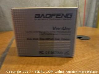Baofeng Portable Two Way Radio Powers on Please Preview