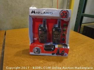 Midland Portable Two Way Radio Please Preview