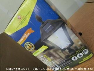 Baytown Solar Outdoor Lamp Please Preview