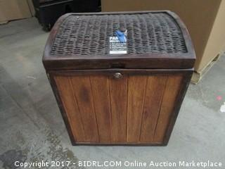 Large Decorative Locking Parcel Delivery Chest Please Preview