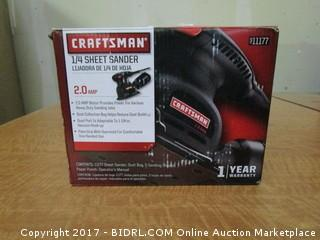 Craftsman Sheet Sander Please preview