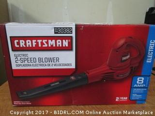 Craftsman Electric Speed Blower Please preview