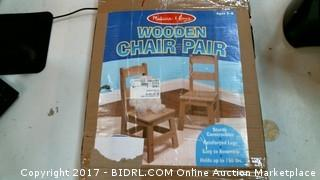 Wooden Chair Pair Please Preview