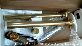Clearflow Brass Slotted Overflow Bath Drain Please Preview