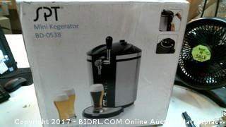 SPT Mini Kegerator Please Preview