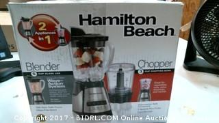 Hamilton Beach Blender/Chopper Please Preview