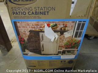 Suncast Serving Station Patio Cabinet Please Preview