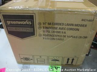 Greenworks Corded Lawn Mower please Preview