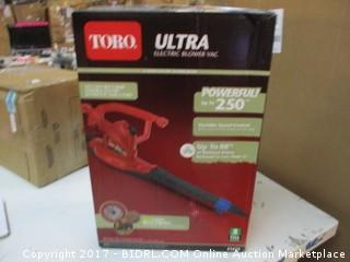 TORO Electric Blower Please Preview