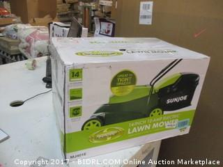 Sunjoe Electric Lawn Mower Please Preview