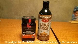 Liquid Smoke and Manuka Honey