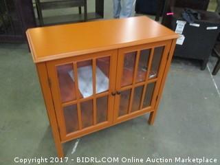 Orange Accent Cabinet Please Preview