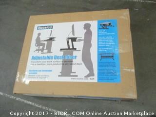 Rocelco Adjustable Desk Riser Please Preview