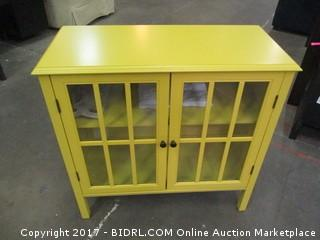 Yellow Accent Cabinet Please Preview