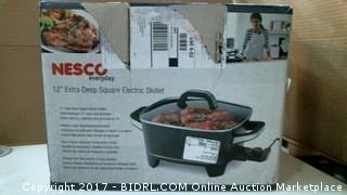 Deep Square Electric Skillet Please Preview