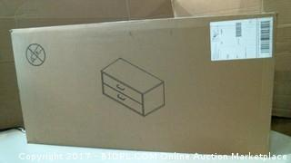 Formost 2 Drawer Cube