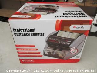 Professional Currency Counter