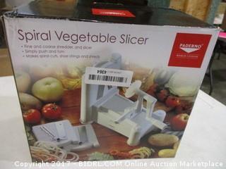 Spiral Vegetable Slicer Please Preview
