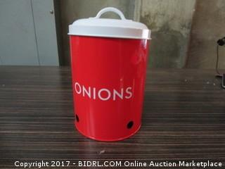 Onions Container