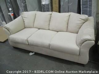 Signature Sofa./  Please Preview MSRP $1000.00  Small dirty spot on side