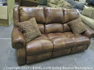Signature Power Sofa Double Recliners MSRP $4200.00 Please Preview