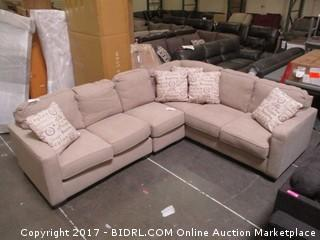 Sectional MSRP $2400.00 Please Preview