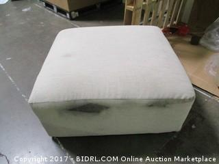 Ottoman MSRP $780.00 Dirty on side Please preview