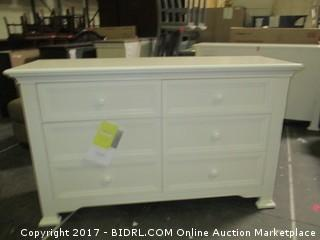 Munire 6 Drawer Dresser MSRP $680.00 Please Preview
