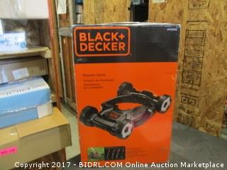 Black + Decker Mower Deck