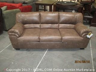 Signature Sofa MSRP $1200.00 Please preview/ some damage