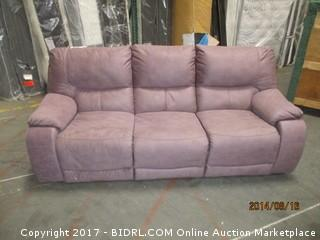 Wallace Sofa Recliner MSRP $3500.00 Please Preview
