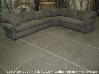 Sectional MSRP $4830.00 Damage At Corner Back Please preview