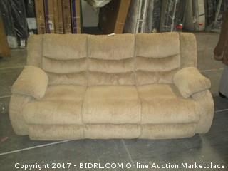 Reclining Sofa MSRP $1600.00 Please Preview