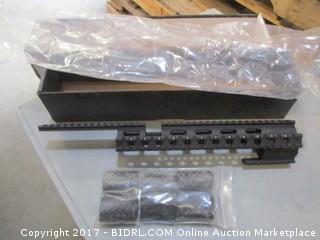 Ruger 10/22 Tactical Quad Rail