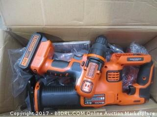 Black + Decker Drill and Other Tool