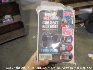 Car Seat Kick Mats