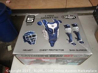 Series 5 Youth Catcher's Gear Set