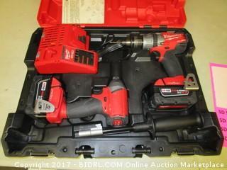 Milwaukee M18 Fuel Drills