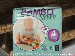 Bambo Nature Diapers Size 4 30 Count