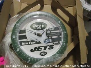 New York Jets Clock