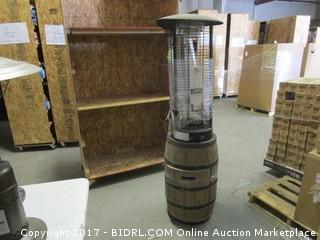 Wine Barrel Patio Heater